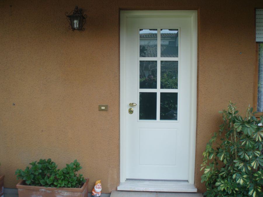 Blindata stile inglese base 2 serramenti - Porte stile inglese ...