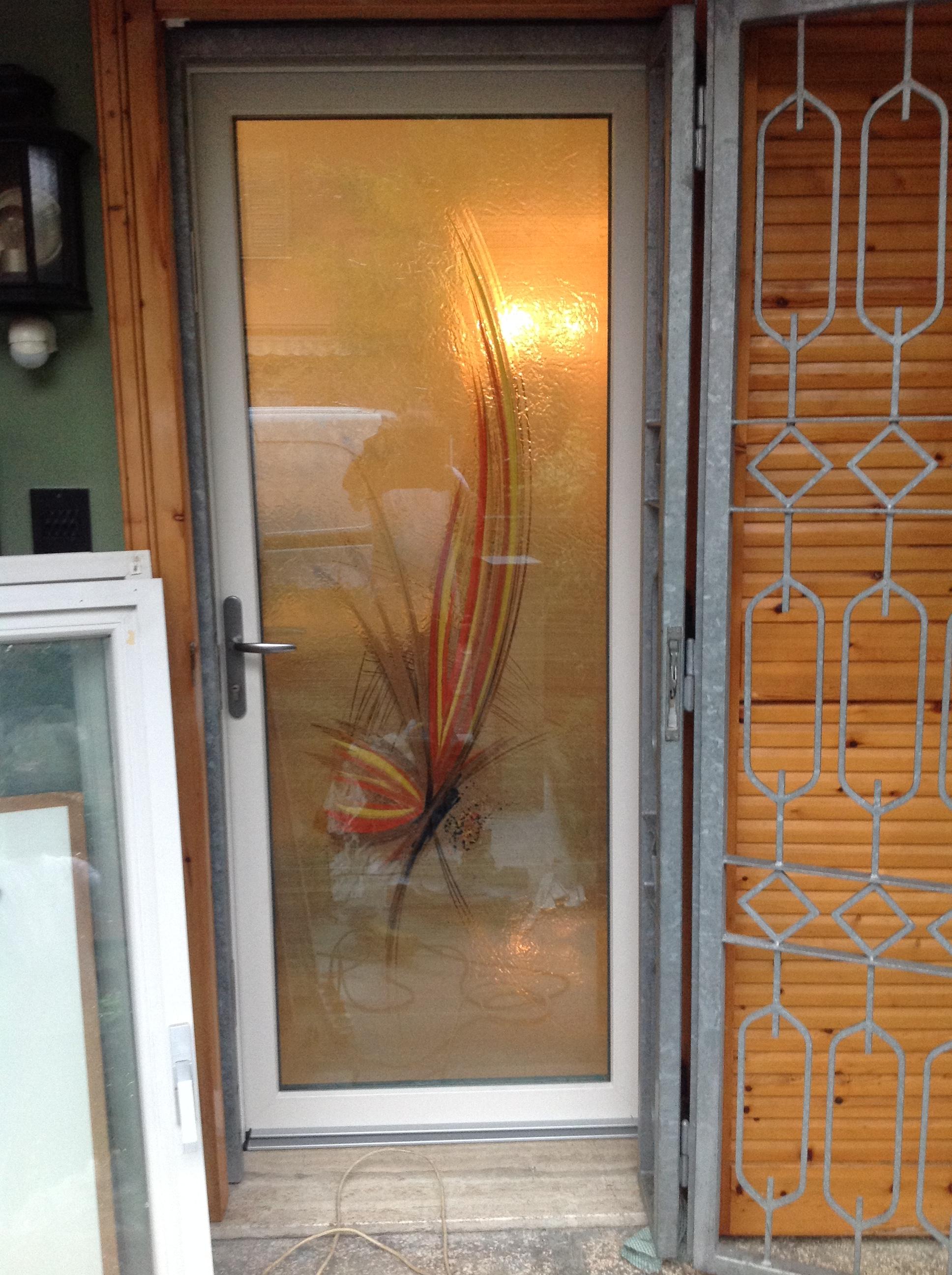Portoncino ingresso base 2 serramenti - Porte ingresso vetro ...