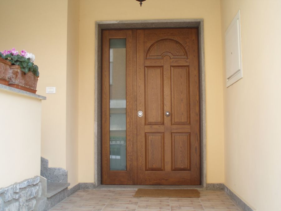 Porte blindate base 2 serramenti - Limitatore apertura porta blindata ...